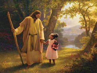 Jesus Christ Walks with Me by myjavier007