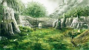 Kokiri Forest by KlausBoss