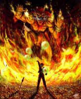 GF Ifrit Final Fantasy VIII by KlausBoss