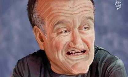 Robin Williams by KlausBoss
