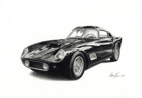 Ferrari 250 GT coupe by klem