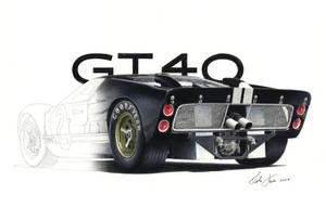 Ford GT 40 MK II by klem
