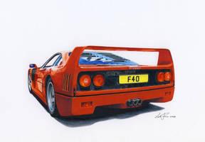 Ferrari F40 by klem