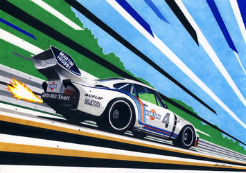 Martini Porsche 935 by klem