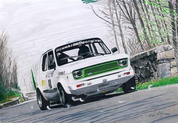 Fiat 127 rally by klem