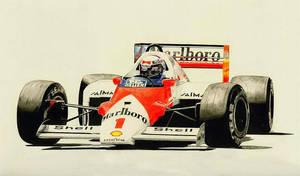 Alain Prost the Champion by klem