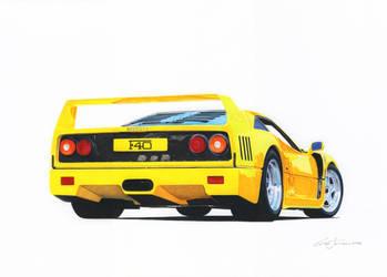 Yellow Stallion by klem