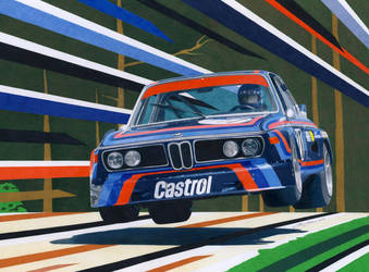 BMW CLS jump by klem