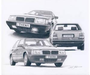 Lancia Thema by klem