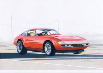 Daytona on highway by klem