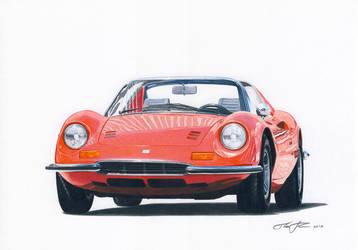 Ferrari Dino by klem