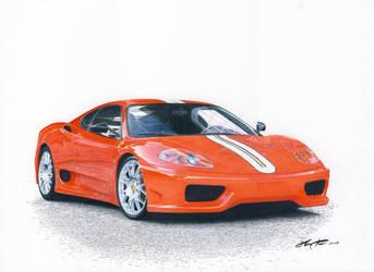 Ferrari 360 CS by klem