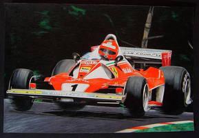 Lauda flying by klem