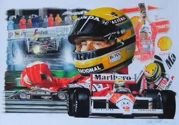 Senna tribute by klem
