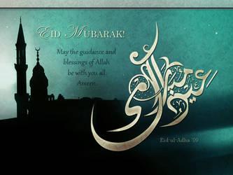 Eid Mubarak by Aelynn