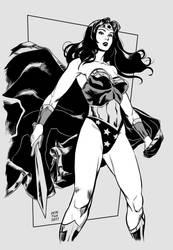 Classic Wonder Woman by Dedefox
