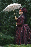 Victorian 1889 costume hat sv by debellespoupees