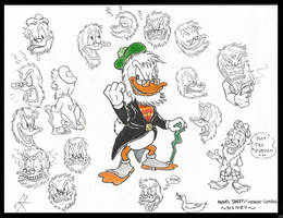 My take on Flintheart Glomgold by devilkais
