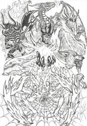 Silmarillion Badassery by devilkais