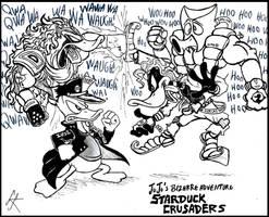 Starduck Crusaders by devilkais