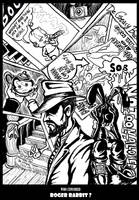 Roger Rabbit cover by devilkais