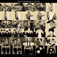 Happy Birthday John Lennon by fionafu0402