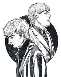 John and Paul by fionafu0402