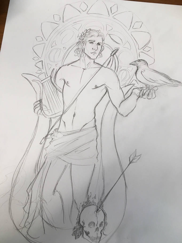 Apollo Sketch by mianewarcher