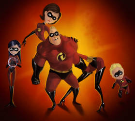 The Incredibles by SNGPSo