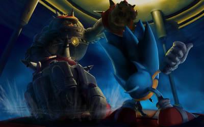 Sonic vs BigArm by SNGPSo
