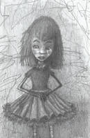 Zola - Original rough sketch. by TheSolitaryReaper
