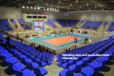 Sport Hall Palembang by FajriTheDreamer