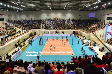 Final Volley Iran vs Kazagstan by FajriTheDreamer