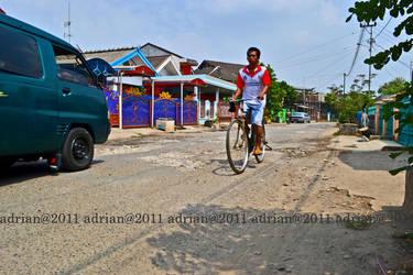 Jalan Rusak Di Palembang by FajriTheDreamer