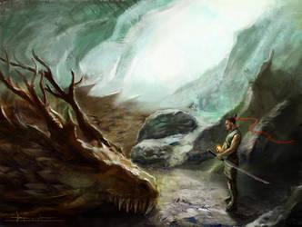 Dragon by 2lua