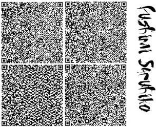 Winter Sarumi QR code Fushimi by Gurvana