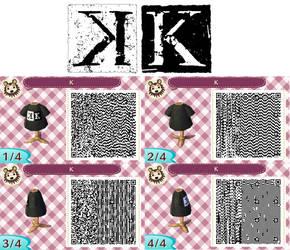 Qr K logo by Gurvana