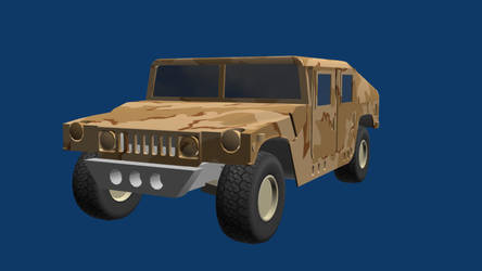 Humvee Wip by wasteofammo