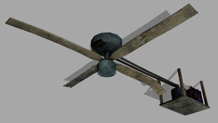 30PH Ceiling fan by wasteofammo