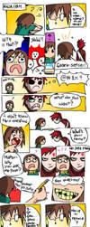 The ninja exams by Jackce-Art