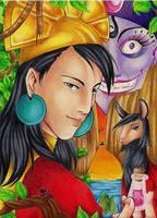 King Kuzco by Tintenmeer