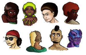 afro city bro! by Deimonian