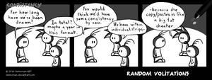 Random Volitations 65 - Consistency by Deimonian