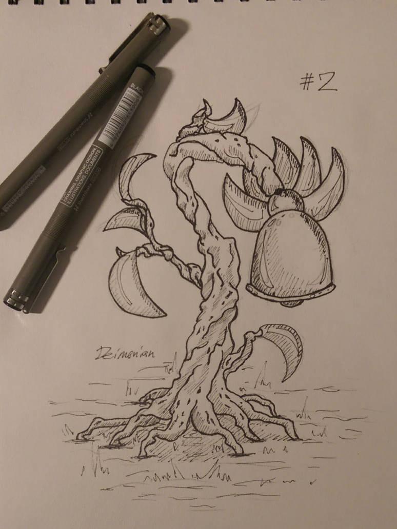 inktober #2 by Deimonian
