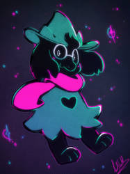 Ralsei by Mad-Stalker