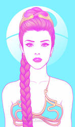Princess Leia by GunnerGurl