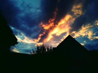Evening Sky by Rechsu