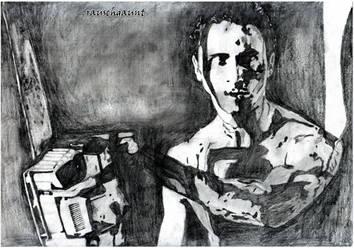 Patrick Bateman by rauschgaunt