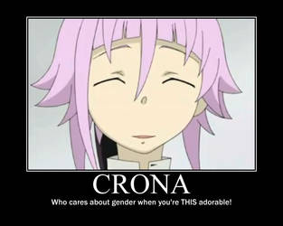 Crona Motivational Poster by Animeprincess1990