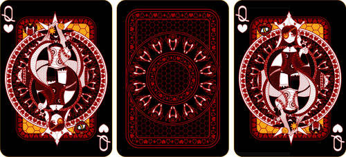 Queen of Hearts - Final by Kintall